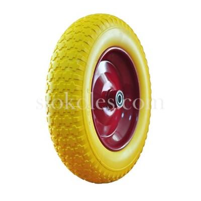 Колесо пена 3.50-8-16-RS для тележки, тачки