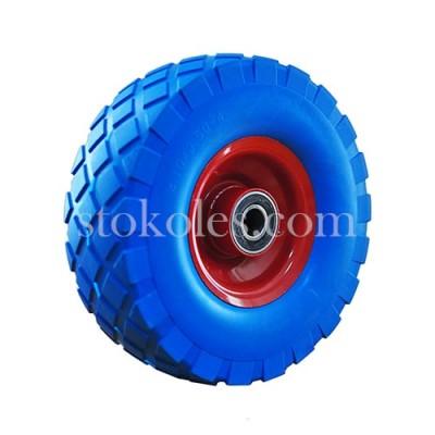 Колесо шина из пены для тележки 3.50-4/204-RS, диаметр 250 мм