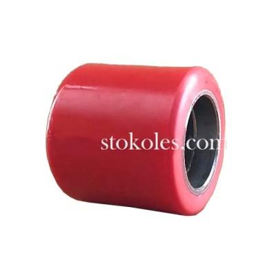 Подвилочный ролик нейлон PU 70х60 (К4) сталь/полиуретан для роклы