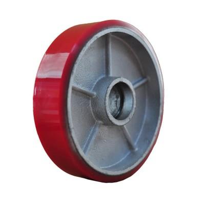 Колесо рулевое без подшипника PU 200/50 (К9) для роклы