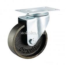 Термостійке чавунне колесо 4054-125 поворотне