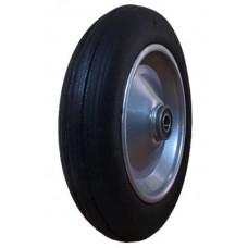 Колесо для тачки литое 3.00-8-204 silver красный диск
