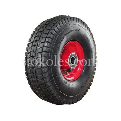 Пневматическое колесо для тачек, тележек 4.10/3.50-4/204-RS