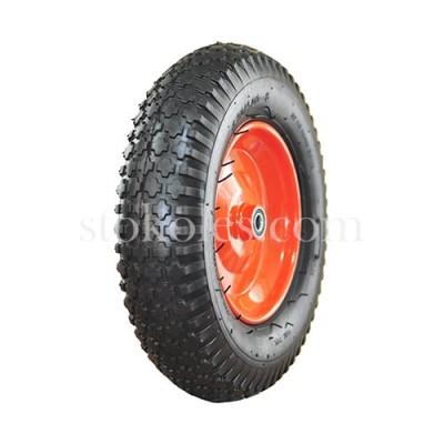 Пневматическое колесо для тачки, тележки 4.00-8/16-RS (230067)