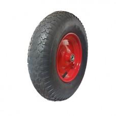 Пневматическое колесо для тачек, тележек 4.00-8/16-RS ступица 70 мм