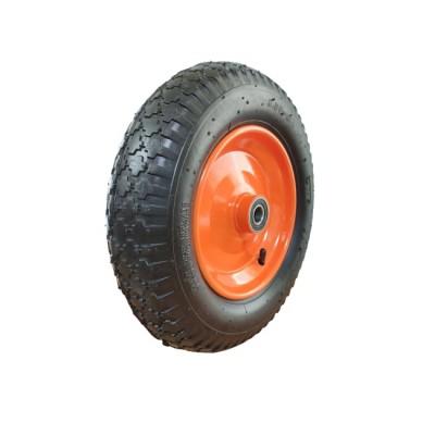 Пневматическое колесо для тачек, тележек 3.50-8/204 6204-2RS