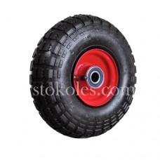 Пневматическое колесо для тачек, тележек 3.50-4/204-RS