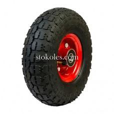 Пневматическое колесо для тачки, тележки 3.50-4-204 (4.10/3.50-4) (К2)