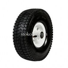 Пневматическое колесо для тачки, тележки 3.50-4-204 (4.10/3.50-4)