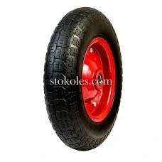 Пневматическое колесо для тачки, тележки 3.50-7-204