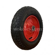 Пневматическое колесо для тачки, тележки 3.50-8-204