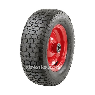 Пневматическое колесо для тачки, тележки 6.50-8-204 (16x6.50-8)
