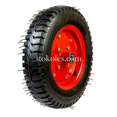 Пневматическое колесо для тачки, тележки 4.00-10-204