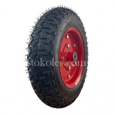 Пневматическое колесо для тачки, тележки 4.00-10-204 (К12)