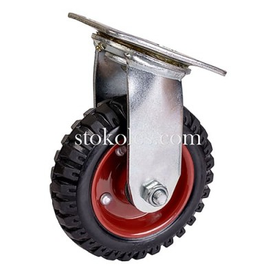 Колесо большегрузное для тележек 620150 поворотное