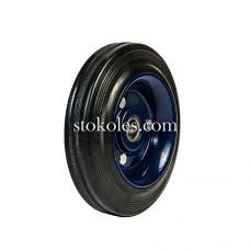 Колесо черная резина 400160 промышленные
