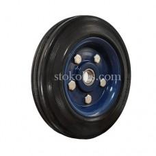 Колесо черная резина 400200 промышленные
