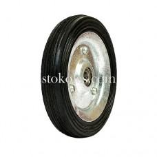 Колесо черная резина 420125-10-1У промышленное