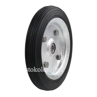 Колесо черная резина 420160-10-1У промышленное