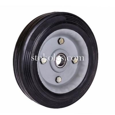Колесо черная резина 420180-20-1У промышленное