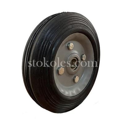 Колесо черная резина 420200-20-2У промышленное