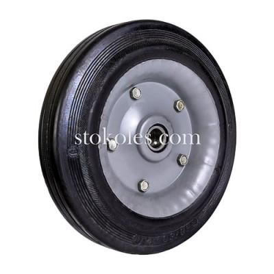 Колесо черная резина 420250-20-2У промышленные