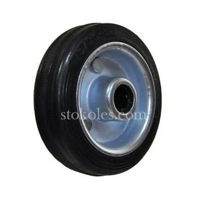 Колесо черная резина 500075 промышленное