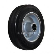 Колесо черная резина 500100 промышленное