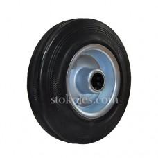Колесо черная резина 500125 промышленное