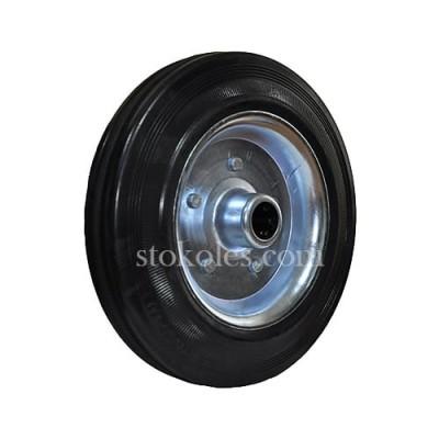 Колесо черная резина 500200 промышленное