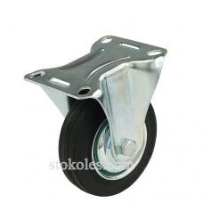 Колесо чорна гума 510100 промислове неповоротне