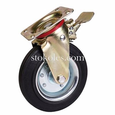Колесо для ТБО 930200 поворотное с тормозом