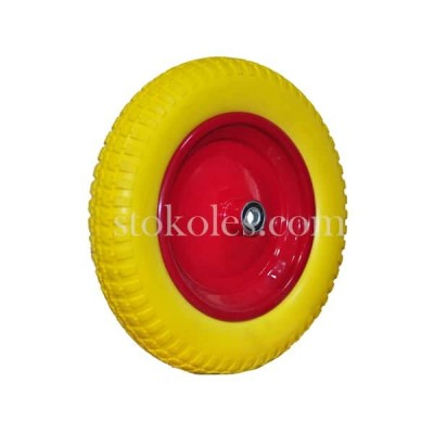 Колесо пена 3.00-8-16-RS для тележки, тачки