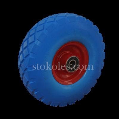 Колесо шина из пены для тележки 3.50-4/204-RS диаметр 265 мм