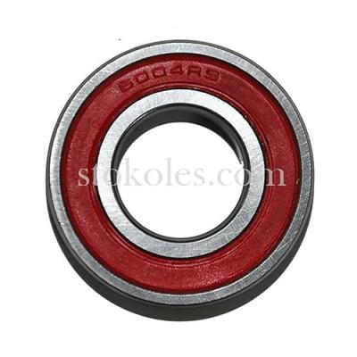 Підшипник кульковий 6004-2RS для коліс тачки, візка