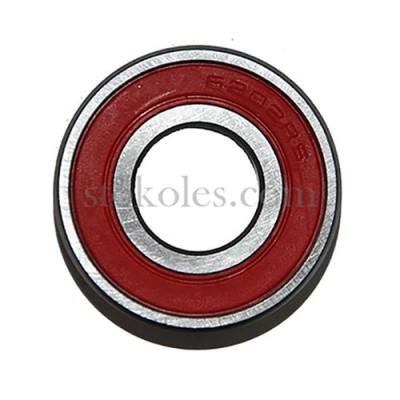 Подшипник шариковый 6202-2RS для колес тачки, тележки
