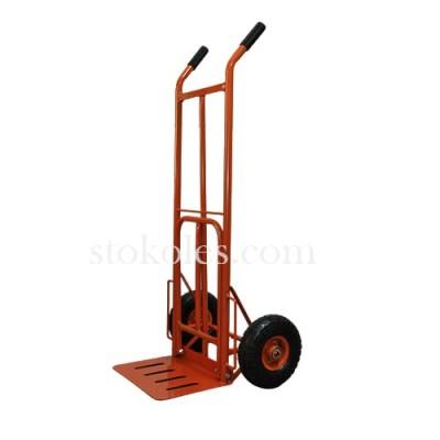 Тележка грузовая двухколесная НТ-1827-3/PR оранжевая